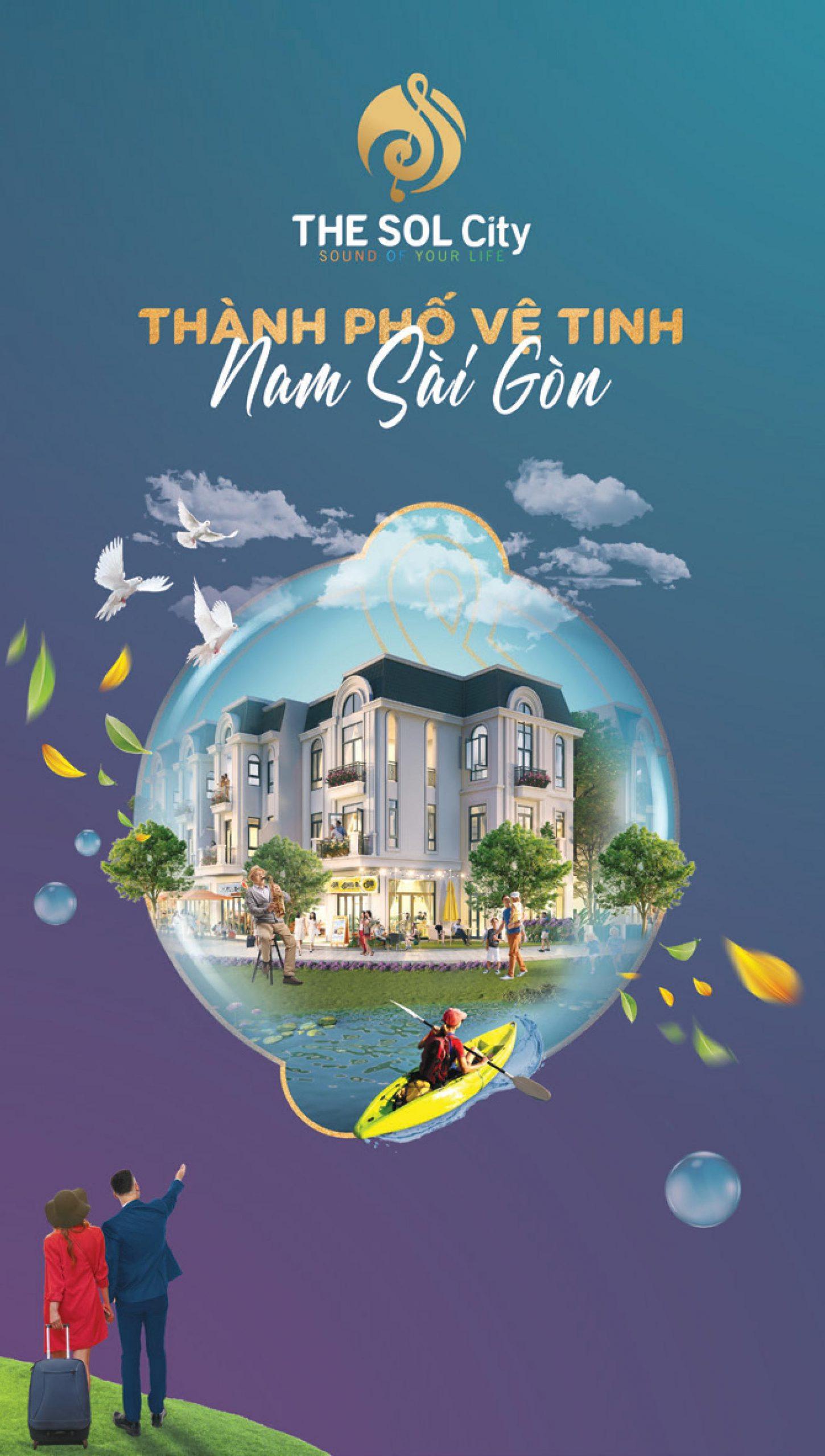 The Sol City - Thành Phố Vệ Tinh Nam Sài Gòn Của CĐT Thắng Lợi Group