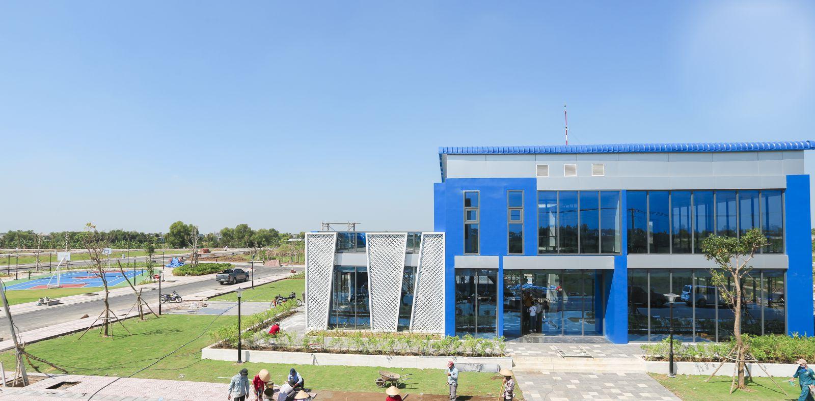 The Sol City - TP. Vệ Tinh Nam Sài Gòn hiện đang khởi công xây dựng giai đầu